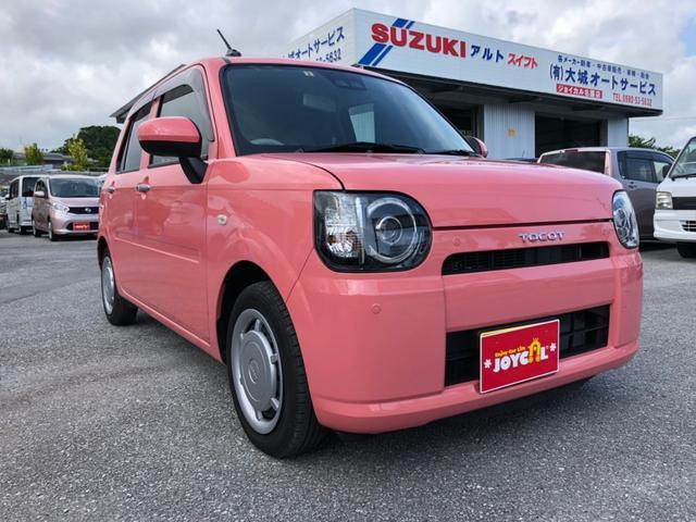 沖縄の中古車 ダイハツ ミラトコット 車両価格 117万円 リ済込 2018(平成30)年 2.0万km ピンク