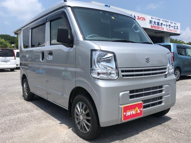 沖縄の中古車 スズキ エブリイ 車両価格 118万円 リ済込 2020(令和2)年 600km シルバーM