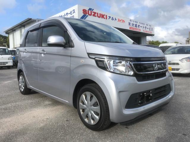 沖縄の中古車 ホンダ N-WGN 車両価格 72万円 リ済込 2016(平成28)年 8.1万km シルバーM