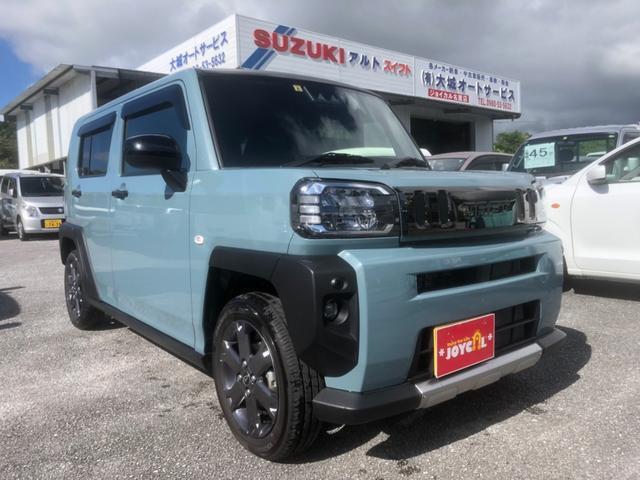沖縄の中古車 ダイハツ タフト 車両価格 169万円 リ済込 2020(令和2)年 100km ブルーM