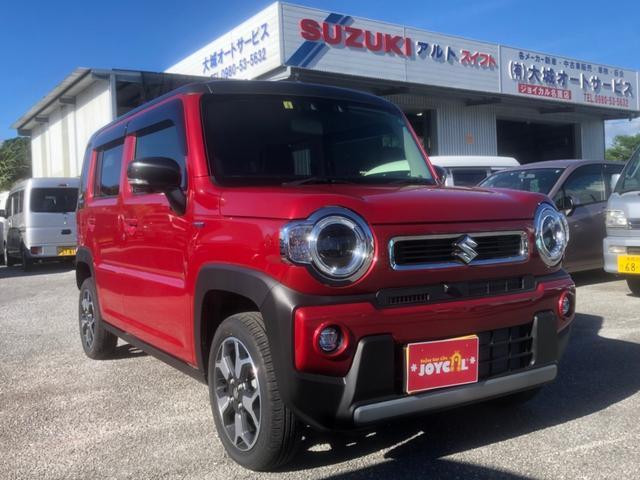 沖縄の中古車 スズキ ハスラー 車両価格 174万円 リ済込 2020(令和2)年 100km レッドM