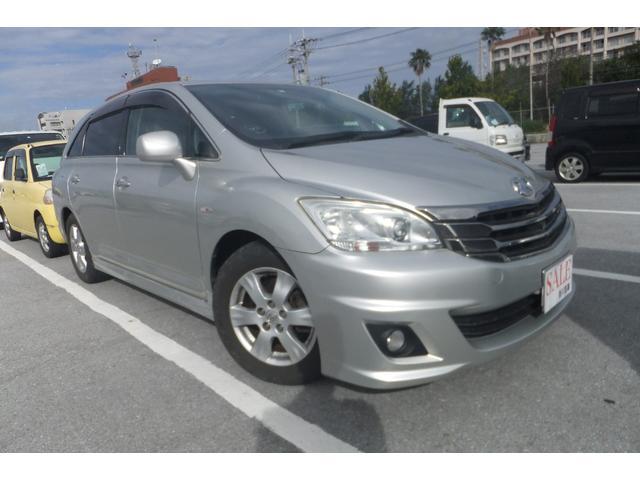沖縄の中古車 トヨタ マークXジオ 車両価格 49万円 リ済込 平成20年 11.8万km シルバー