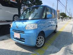 沖縄の中古車 ダイハツ タント 車両価格 48万円 リ済込 平成21年 8.0万K ブルー