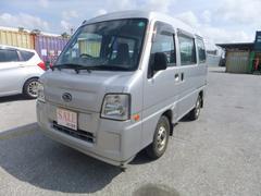 沖縄の中古車 スバル サンバーバン 車両価格 48万円 リ済込 平成23年 9.3万K シルバー