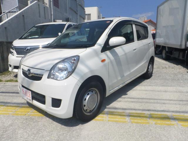 沖縄の中古車 ダイハツ ミラ 車両価格 39万円 リ済込 2013(平成25)年 7.6万km ホワイト