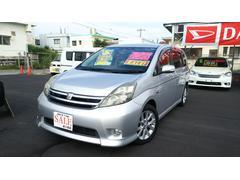 沖縄の中古車 トヨタ アイシス 車両価格 39万円 リ済込 平成19年 8.5万K シルバー