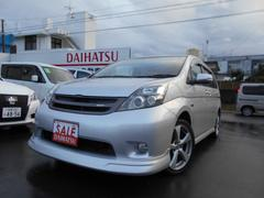 沖縄の中古車 トヨタ アイシス 車両価格 45万円 リ済込 平成20年 8.7万K シルバー