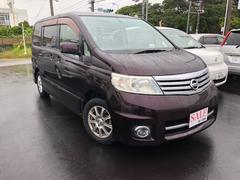 沖縄の中古車 日産 セレナ 車両価格 49万円 リ済込 平成19年 10.0万K パープル