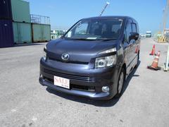 沖縄の中古車 トヨタ ヴォクシー 車両価格 48万円 リ済込 平成19年 11.7万K パープル