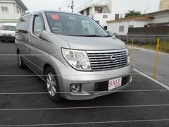 沖縄の中古車 日産 エルグランド 車両価格 35万円 リ済込 平成19年 14.3万K シルバー