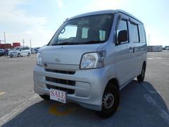 沖縄の中古車 ダイハツ ハイゼットカーゴ 車両価格 39万円 リ済込 平成24年 12.2万K シルバー