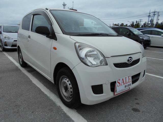 沖縄の中古車 ダイハツ ミラ 車両価格 29万円 リ済込 2012(平成24)年 10.5万km ホワイト
