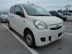沖縄の中古車 ダイハツ ミラ 車両価格 29万円 リ済込 平成24年 10.5万K ホワイト