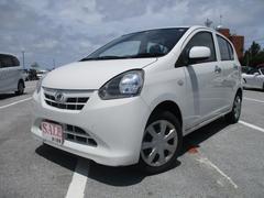 沖縄の中古車 ダイハツ ミライース 車両価格 35万円 リ済込 平成25年 5.7万K ホワイト