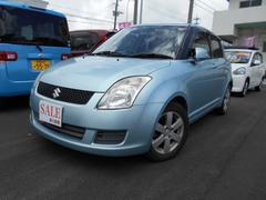 沖縄の中古車 スズキ スイフト 車両価格 19万円 リ済込 平成19年 3.3万K ライトブルー