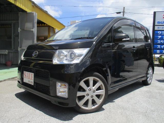 沖縄の中古車 ダイハツ ムーヴ 車両価格 45万円 リ済込 平成21年 10.2万km ブラック