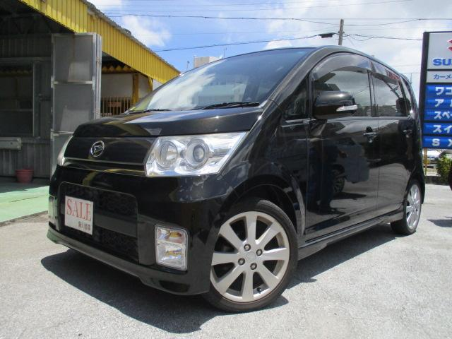 沖縄の中古車 ダイハツ ムーヴ 車両価格 39万円 リ済込 2009(平成21)年 10.2万km ブラック