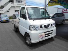 沖縄の中古車 日産 NT100クリッパートラック 車両価格 48万円 リ済込 平成24年 10.6万K ホワイト