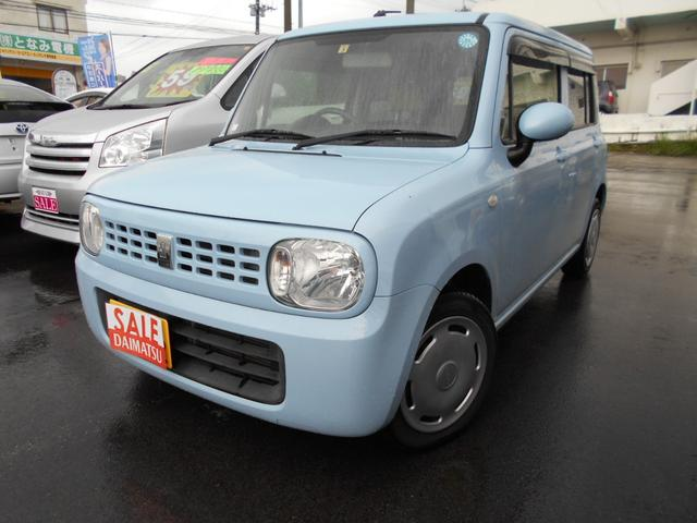 沖縄の中古車 スズキ アルトラパン 車両価格 49万円 リ済込 平成24年 9.8万km ブルー