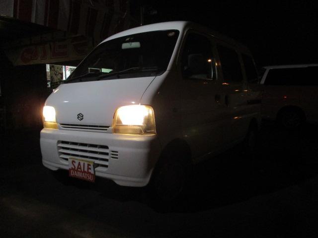 沖縄の中古車 スズキ エブリイ 車両価格 9万円 リ済込 平成16年 13.5万km ホワイト