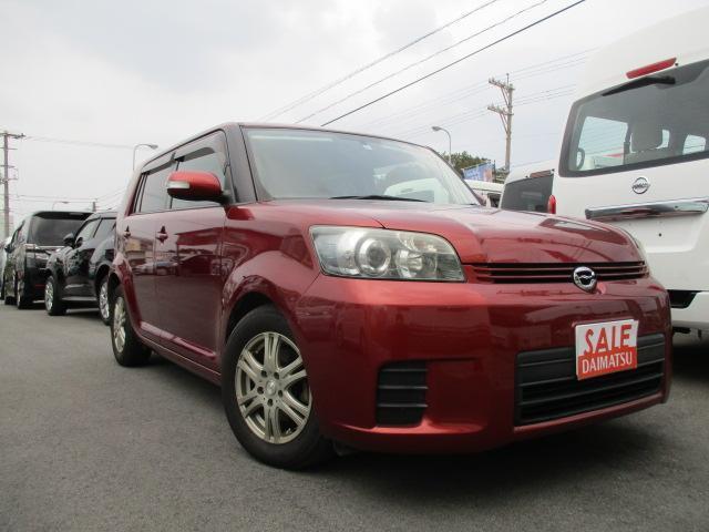 沖縄の中古車 トヨタ カローラルミオン 車両価格 25万円 リ済込 平成20年 11.2万km ダークレッド