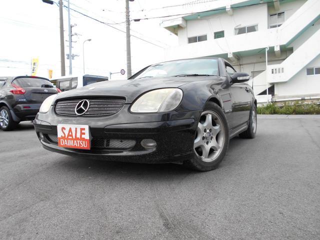 沖縄県の中古車ならM・ベンツ SLK230コンプレッサー
