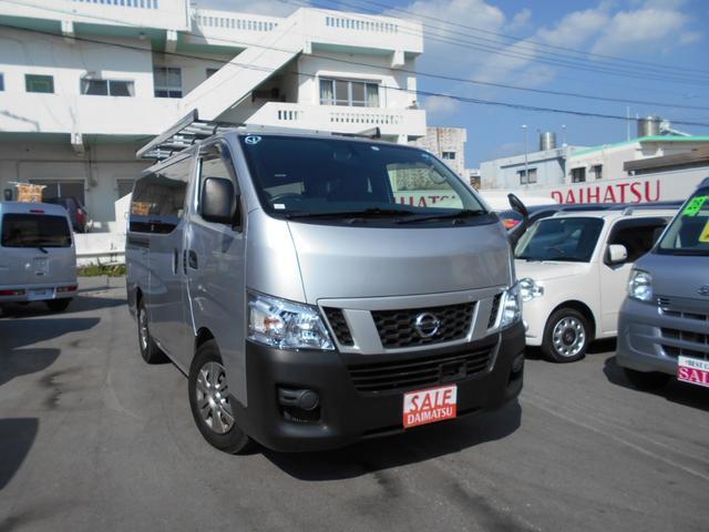 沖縄県中頭郡西原町の中古車ならNV350キャラバンバン ロングDXターボ