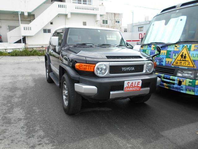 沖縄県の中古車ならFJクルーザー オフロードパッケージ