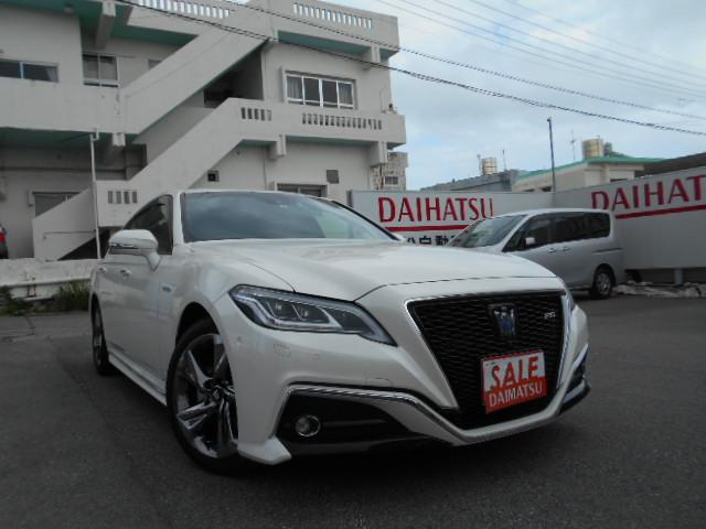 沖縄県の中古車ならクラウンハイブリッド RS