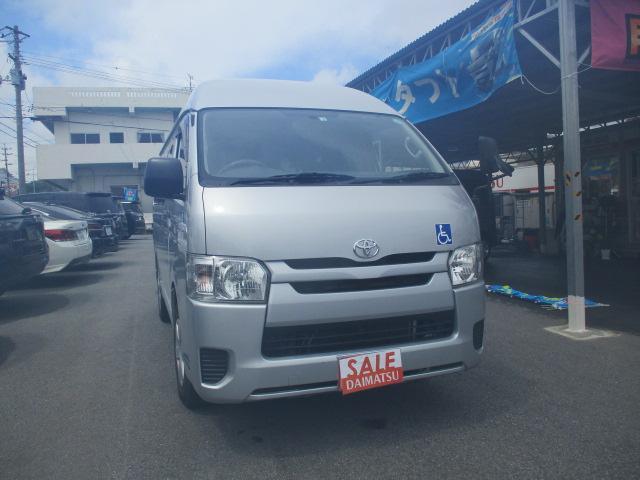 沖縄県の中古車ならレジアスエースバン  ウェルキャブ・福祉車両