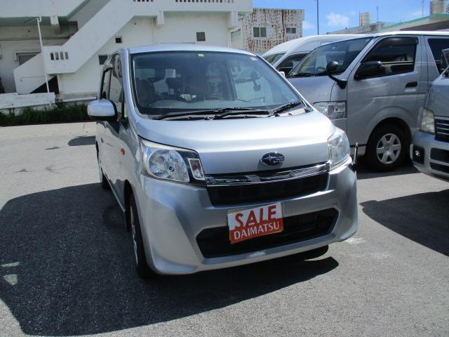 沖縄の中古車 スバル ステラ 車両価格 49万円 リ済込 2013(平成25)年 1.8万km シルバー