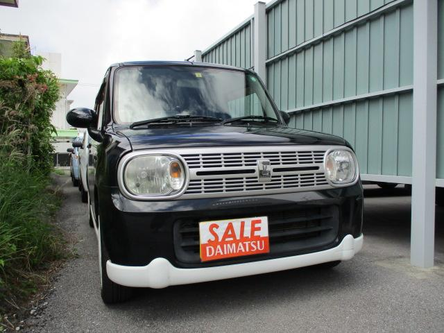 沖縄の中古車 スズキ アルトラパン 車両価格 39万円 リ済込 2011(平成23)年 9.7万km ブラック
