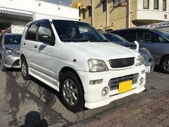 沖縄の中古車 ダイハツ テリオスキッド 車両価格 16万円 リ済込 平成12年 5.9万K ホワイト