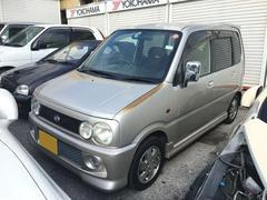 沖縄の中古車 ダイハツ ムーヴ 車両価格 9万円 リ済込 平成12年 12.6万K ライトゴールド