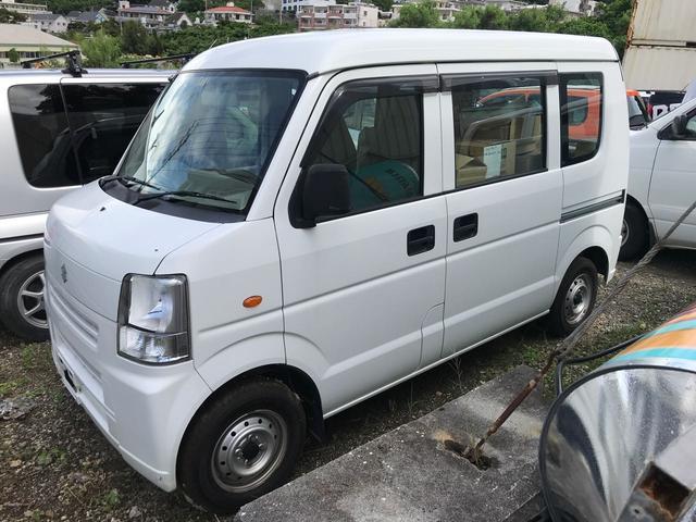 沖縄の中古車 スズキ エブリイ 車両価格 49万円 リ済込 平成24年 8.3万km ホワイト