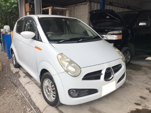 沖縄の中古車 スバル R2 車両価格 15万円 リ済込 平成16年 10.4万km ホワイト