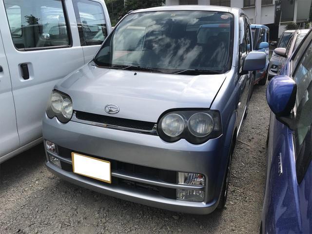 沖縄の中古車 ダイハツ ムーヴ 車両価格 8万円 リ済別 2004(平成16)年 10.0万km ブライトシルバーメタリック