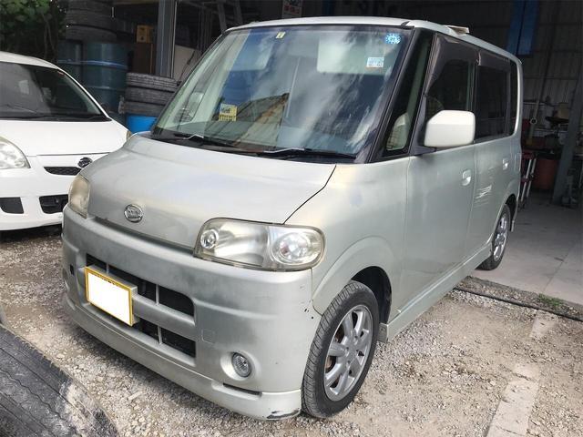 沖縄の中古車 ダイハツ タント 車両価格 23万円 リ済込 2006(平成18)年 6.5万km ライトゴールド