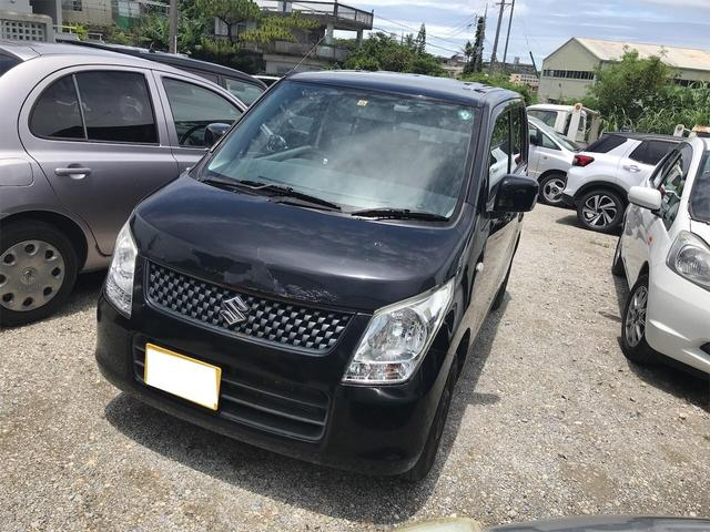 沖縄の中古車 スズキ ワゴンR 車両価格 29万円 リ済込 2011(平成23)年 8.5万km ブラック