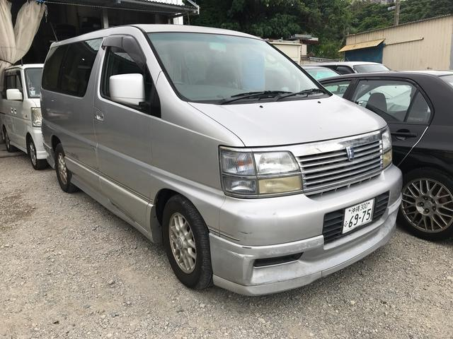 沖縄の中古車 日産 ホーミーエルグランド 車両価格 19万円 リ済込 1999(平成11)年 10.2万km シルバー