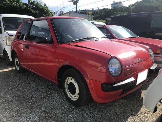 沖縄の中古車 日産 Be-1 車両価格 59万円 リ済別 1987(昭和62)年 11.5万km レッド