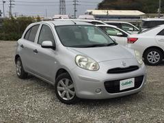 沖縄の中古車 日産 マーチ 車両価格 54万円 リ済別 平成25年 8.5万K シルバー