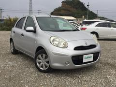 沖縄の中古車 日産 マーチ 車両価格 54万円 リ済別 平成25年 8.4万K シルバー