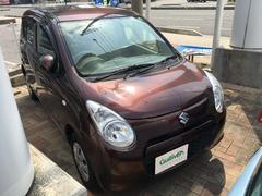 沖縄の中古車 スズキ アルト 車両価格 39万円 リ済別 平成21年 3.4万K ブラウン