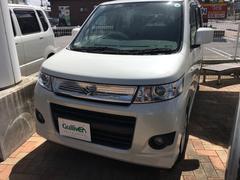 沖縄の中古車 スズキ ワゴンRスティングレー 車両価格 49万円 リ済別 平成21年 7.7万K パールホワイト