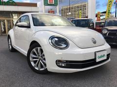 VW ザ・ビートルデザインレザーパッケージ ナビ 地デジ HID 黒革シート