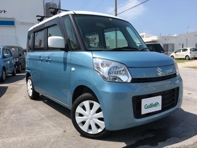 沖縄県の中古車ならスペーシア X ツートンカラー ナビ バックカメラ パワースライドドア