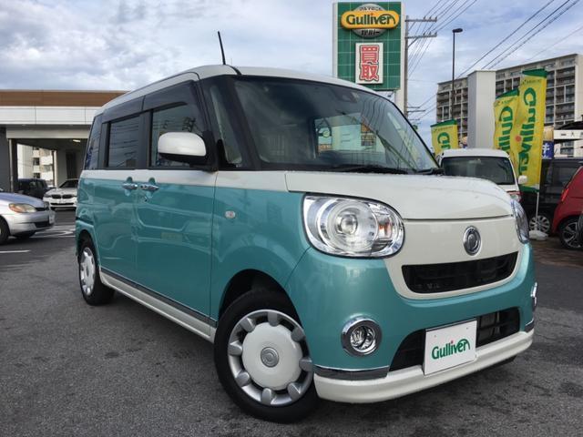 沖縄県の中古車ならムーヴキャンバス Gメイクアップ SAII 純正ナビTV 両側パワースライド