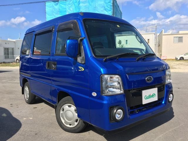 沖縄県の中古車ならサンバーバン WR ブルーリミテッド 社外ナビTV フォグランプ