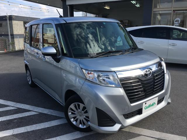 沖縄県の中古車ならルーミー X S 社外SDナビ パワースライドドア